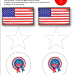 Printable preschool 4th of July Activity - free for a limited time