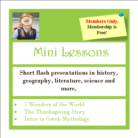Mini Lessons Button
