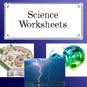 Free Science Worksheets