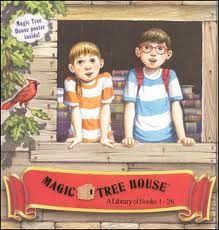 "Cool social studies book set ""Magic Tree House Boxed Set, Books 1-4 ..."