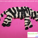 Playdoh Activities Zebra