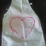 heart apron preschool craft