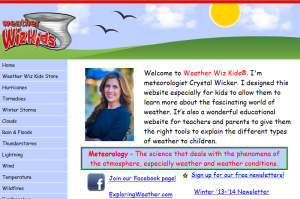 teach kids about weather